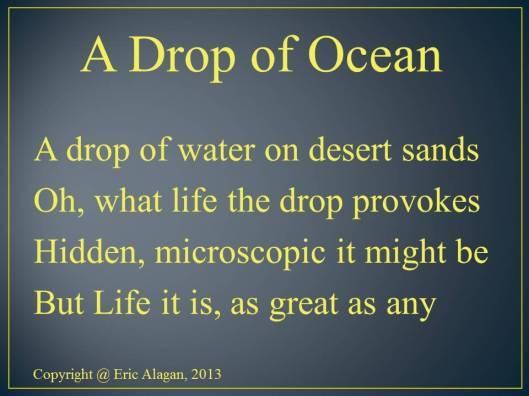 A Drop of Ocean