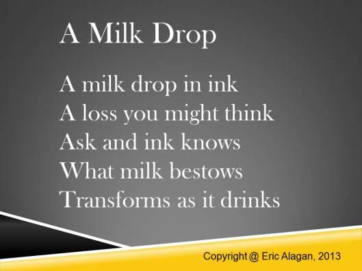 A Milk Drop
