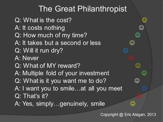 The Great Philanthropist