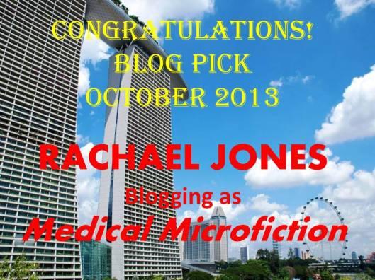 Rachael Jones_Blog Pick_Oct 2013