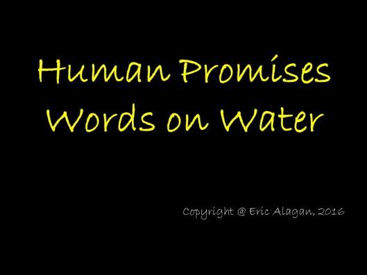 Human Promises